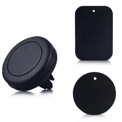 mini support voiture magn tique auto fixation ventouse universal pour iphone 6 5 4 ipad. Black Bedroom Furniture Sets. Home Design Ideas