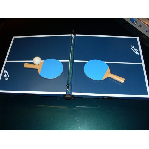 Mini table de ping pong go sport pas cher priceminister Dimensions d une table de ping pong