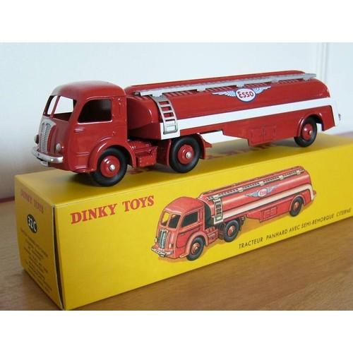 miniature en boite dinky toys par atlas panhard movic citerne esso ref 32c atlas. Black Bedroom Furniture Sets. Home Design Ideas
