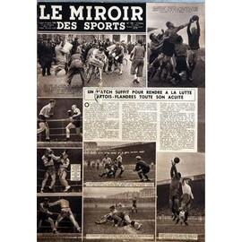 Miroir des sports le n 138 du 13 03 1944 rugby for Le miroir des sports