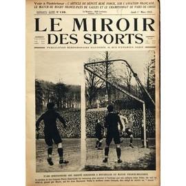 Miroir des sports le n 139 du 01 03 1923 l 39 article du for Le miroir des sports