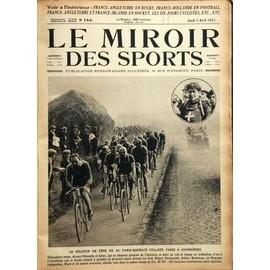 Miroir des sports le n 144 du 05 04 1923 france for Le miroir des sports