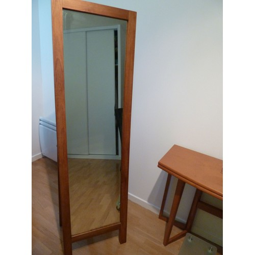 Miroir En Pied En Teck Marque Habitat - Achat Et Vente