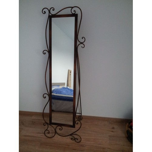 miroir psych fer forg avec volutes achat et vente rakuten. Black Bedroom Furniture Sets. Home Design Ideas