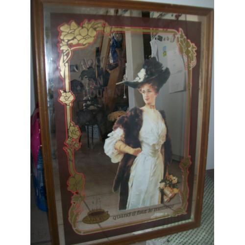miroir publicitaire van houten neuf et d 39 occasion