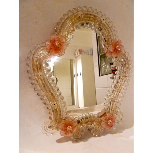 miroir v nitien en verre de murano achat et vente