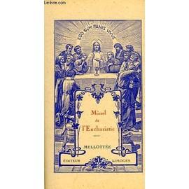 Missel De L'eucharistie de Collectif