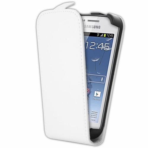 Mocca tui clapet rabat blanc pour samsung galaxy trend - Samsung galaxy trend lite blanc avis ...