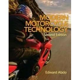 Modern Motorcycle Technology de Edward Abdo