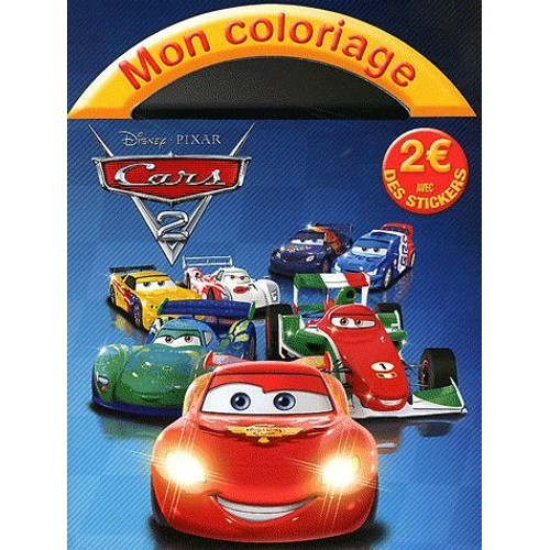 Mon coloriage cars 2 de disney pixar achat vente neuf - Coloriage pixar ...