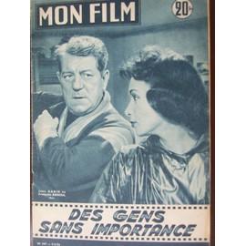 Mon Film 507 Du 9 Mai 1956