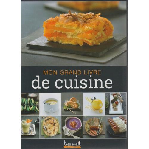 mon grand livre de cuisine de collectif format album