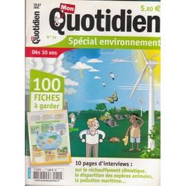 Mon Quotidien N� 14 : Sp�cial Environnement