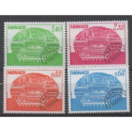Monaco 1979: S�rie De 4 Timbres Pr�oblit�r�s N� 62, 63, 64 Et 65.