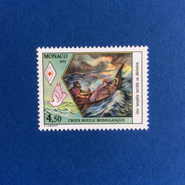 Monaco - Croix Rouge - Vie De Sainte D�vote (Y & T 1797)