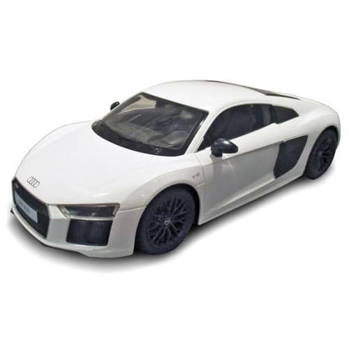mondo voiture t l command e audi r8 1 14 blanche neuf et d 39 occasion. Black Bedroom Furniture Sets. Home Design Ideas