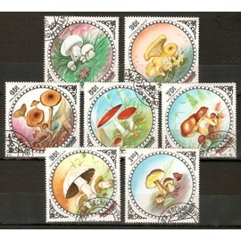 Mongolie-S�rie Compl�te,7 Timbres Oblit�r�s,