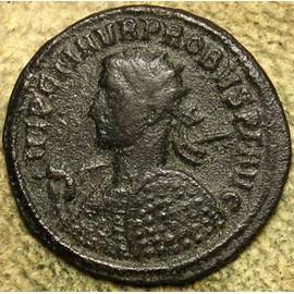 Monnaie Romaine Antonien Empereur Probus 276 Ans, Troph�e Entre Deux Captives