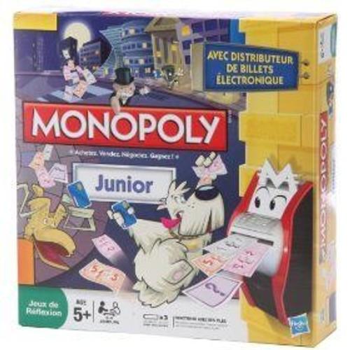 monopoly junior electronique 2 achat et vente. Black Bedroom Furniture Sets. Home Design Ideas