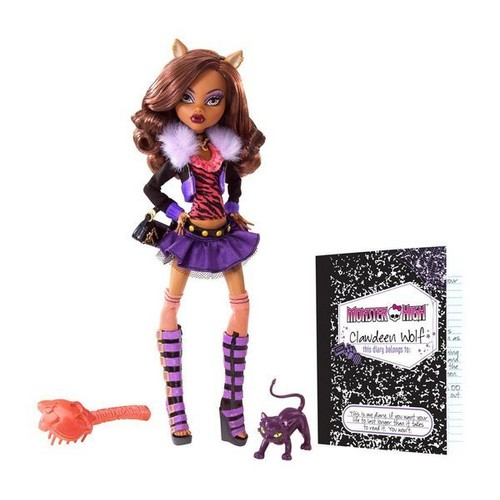 poup e monster high clawdeen wolf achat et vente. Black Bedroom Furniture Sets. Home Design Ideas