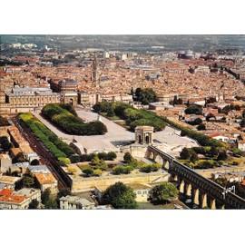 Montpellier h rault vue a rienne des arceaux des - Terrasse et jardin en ville montpellier ...