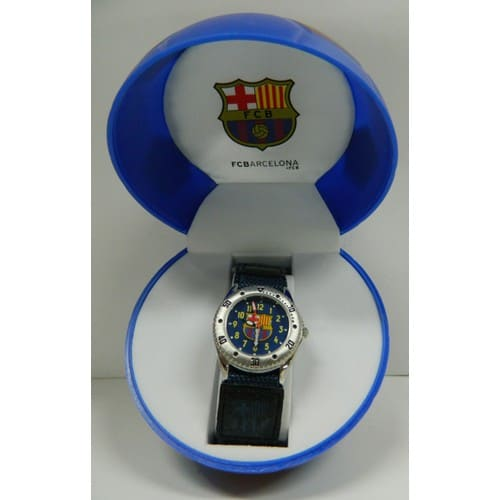 montre enfant gar u00e7on sport fc barcelone football pas cher