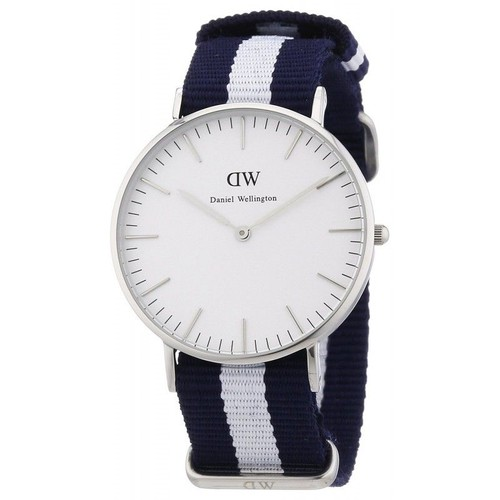 montre femme daniel wellington 0602dw bracelet nylon achat et vente. Black Bedroom Furniture Sets. Home Design Ideas