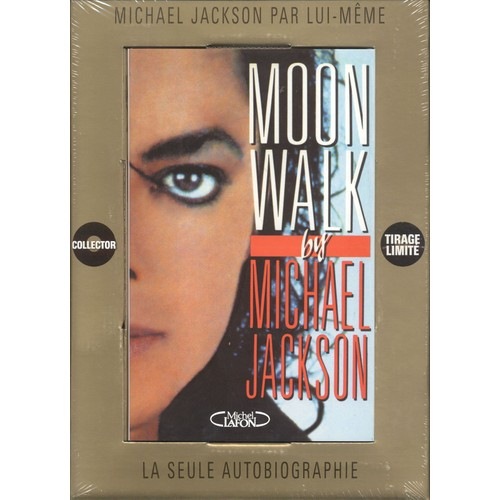 moon walk coffret collector de michael jackson format album. Black Bedroom Furniture Sets. Home Design Ideas