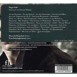M�rike-Lieder - Hugo Wolf