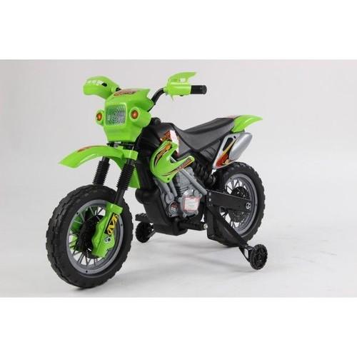 moto lectrique pour enfant vert cross achat et vente. Black Bedroom Furniture Sets. Home Design Ideas
