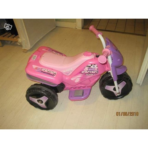 moto l ctrique rechargeable sur secteur couleur rose et violet. Black Bedroom Furniture Sets. Home Design Ideas