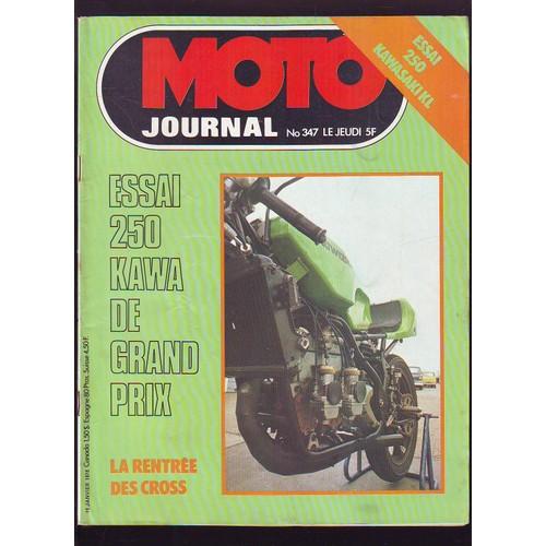 moto journal n 347 1978 essai 250 kawasaki kl de collectif. Black Bedroom Furniture Sets. Home Design Ideas