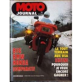moto journal n 548 du 18 03 1982 comparatif bfg bmw honda le tout terrain aux usa. Black Bedroom Furniture Sets. Home Design Ideas