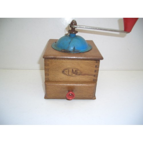 moulin a cafe ancien marque elma achat et vente priceminister rakuten. Black Bedroom Furniture Sets. Home Design Ideas