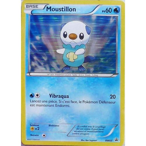 Moustillon promo bw03 60pv holo pokemon noir blanc - Code promo vente du diable frais de port offert ...