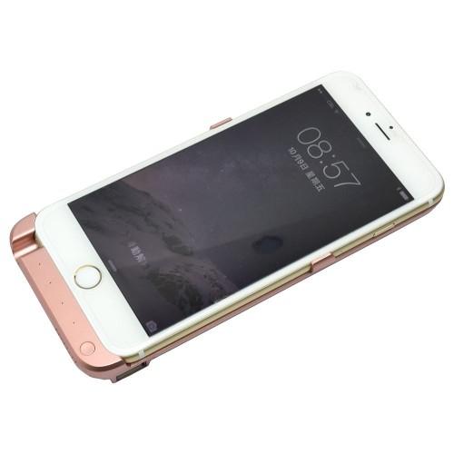 mp power or rose coque batterie externe etui housse rechargeable 5800 mah pour apple iphone 6. Black Bedroom Furniture Sets. Home Design Ideas