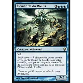 Mtg - El�mental Du Roulis [Zendikar] Rare