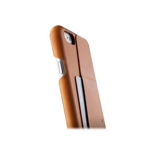 sale retailer aa162 25b43 Mujjo Leather Wallet Case 80° - Coque de protection pour téléphone portable  - cuir au tannage végétal - brun clair - pour Apple iPhone 6 Plus, 6s ...