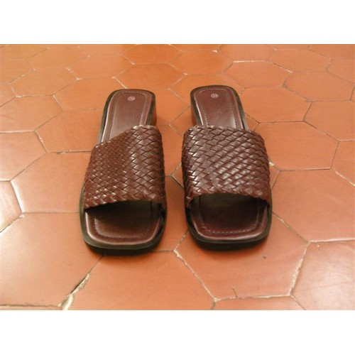 Mules cuir marron blanche porte achat et vente priceminister rakuten - Code avantage blanche porte ...