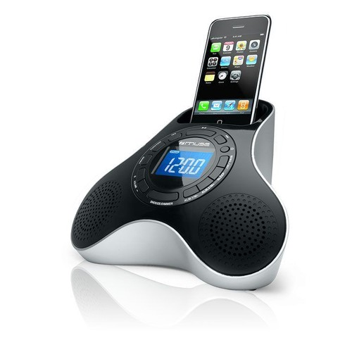 muse station d 39 accueil pour iphone ipod avec radio. Black Bedroom Furniture Sets. Home Design Ideas