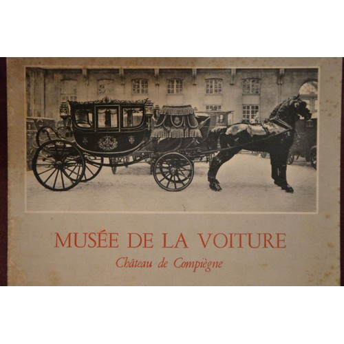 musee de la voiture chateau de compiegne annee 1950 de jacques robiquet format catalogue d. Black Bedroom Furniture Sets. Home Design Ideas