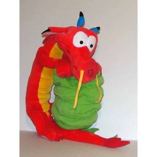 mushu le celebre dragon dans mulan peluche geante disney. Black Bedroom Furniture Sets. Home Design Ideas
