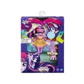 My Little Pony - Equestria Girls : Poup�e Twilight Sparkle Et Spike Le Chiot