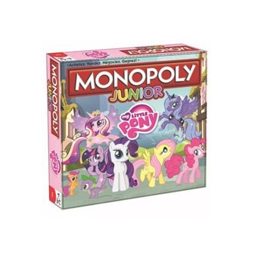 Plateau Pony Juniorfrancais De Monopoly Little My Jeu IW2YEDH9
