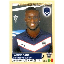N�37 - Lamine San� - Girondins De Bordeaux - Sticker Foot 2014-20 - Ligue1 - Sticker Foot 2014-2015 Panini
