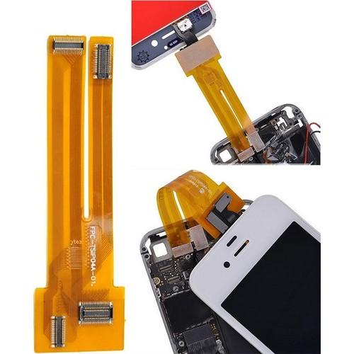 nappe connecteur de test 201 cran lcd vitre iphone 4 et 4s pas cher