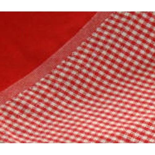 nappe rouge avec tr s large bordure vichy rouge et blanc 180 cm david olivier. Black Bedroom Furniture Sets. Home Design Ideas