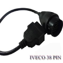 navplus pour iveco 38 broches obd obd2 adaptateur van c ble de camion pour autocom cdp. Black Bedroom Furniture Sets. Home Design Ideas