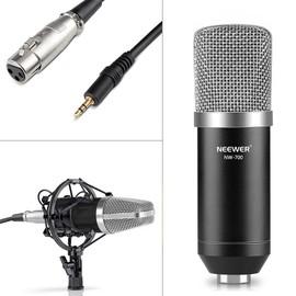 neewer nw 700 microphone micro condensateur professional studio radio record enregistrement noir. Black Bedroom Furniture Sets. Home Design Ideas