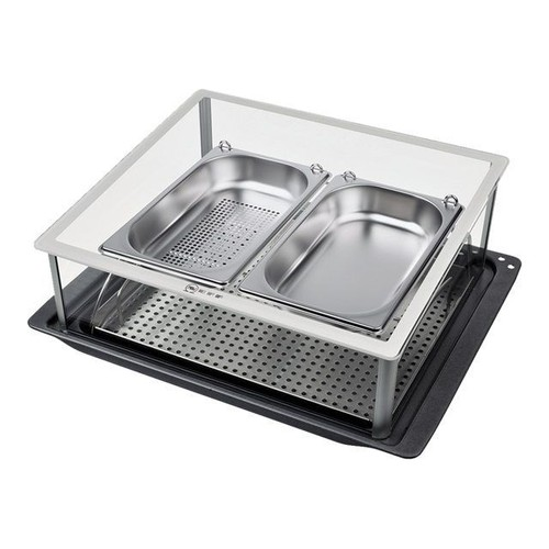 neff n8642x3 kit d 39 accessoires pour cuisson vapeur au four pas cher. Black Bedroom Furniture Sets. Home Design Ideas